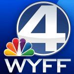 WYFF-TV - Blue Background Logo - Smaller